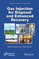 Cover image for Gas injection for disposal and enhanced recovery