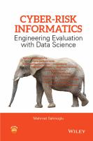 Cover image for CYBER-RISK INFORMATICS : Engineering Evaluation with Data Science