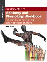 Cover image for Fundamentals of Anatomy and Physiology Workbook : AStudy guide for Nursing and Healthcare Students