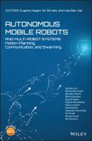 Cover image for Autonomous Mobile Robots and Multi-Robot Systems: Motion-Planning, Communication, and Swarming