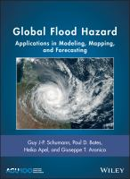 Cover image for Global Flood Hazard : Applications in Modeling, Mapping, and Forecasting