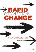 Cover image for Rapid Organizational Change