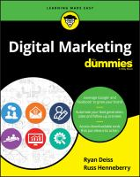 Cover image for Digital Marketing
