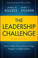 Cover image for THE LEADERSHIP CHALLENGE : How to Make Extraordinary Things Happen in Organizations