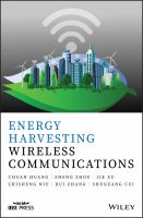 Cover image for Energy Harvesting Wireless Communications