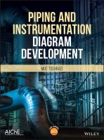 Cover image for Piping and instrumentation diagram development