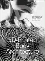 Cover image for 3D-Printed Body Architecture