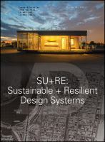 Cover image for SU+RE : Sustainable + Resilient Design Systems