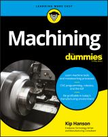 Cover image for Machining