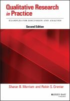 Cover image for Qualitative research in practice : examples for discussion and analysis