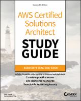 Cover image for AWS Certified Solutions Architecture study guide : Associate (SAA-C01) Exam