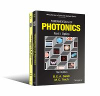 Cover image for FUNDAMENTALS OF PHOTONICS