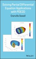 Cover image for Solving Partial Differential Equation Applications with PDE2D