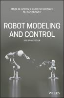 Cover image for Robot Modeling and Control
