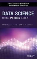 Cover image for Data Science Using Python and R