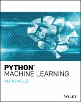 Cover image for Python Machine Learning