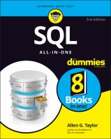 Cover image for SQL ALL- IN - ONE