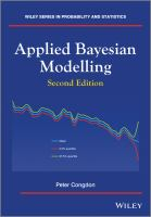 Cover image for Applied bayesian modelling