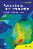 Cover image for Programming the finite element method