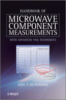 Cover image for Handbook of microwave component measurements : with advanced VNA techniques