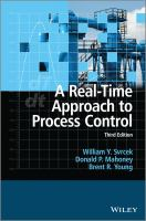 Cover image for A real time approach to process control