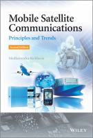 Cover image for Mobile satellite communications : principles and trends