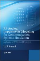 Cover image for RF analog impairments modeling for communication systems simulation : application to OFDM-based transceivers