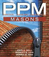 Cover image for Practical problems in mathematics for masons