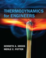 Cover image for Thermodynamics for engineers