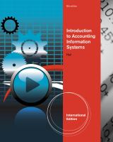 Cover image for Introduction to accounting information systems