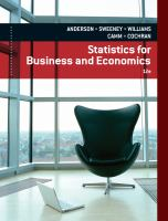 Cover image for Statistics for business and economics