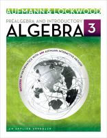 Cover image for Prealgebra and introductory algebra : an applied approach