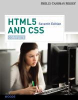 Cover image for HTML5 and CSS : complete