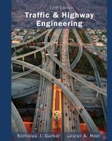Cover image for Traffic and highway engineering