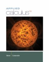 Cover image for Applied calculus