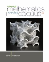 Cover image for Finite mathematics and applied calculus