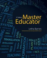 Cover image for Master educator : student course book