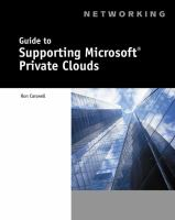 Cover image for Guide to supporting microsoft private clouds