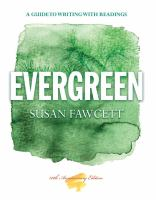 Cover image for Evergreen : a guide to writing with readings