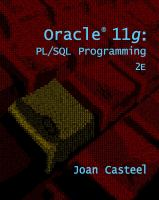 Cover image for Oracle 11g : PL/SQL programming