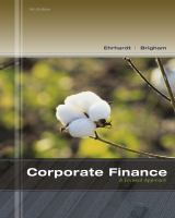 Cover image for Corporate finance : a focused approach