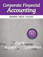 Cover image for Corporate financial accounting