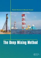 Cover image for The deep mixing method