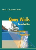 Cover image for Quay walls