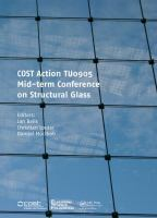Cover image for COST action TU0905 mid-term conference on structural glass