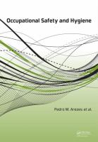 Cover image for Occupational safety and hygiene