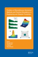 Cover image for Frontiers of discontinuous numerical methods and practical simulations in engineering and disaster prevention
