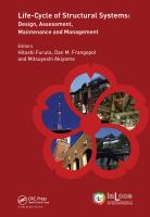 Cover image for Life-cycle of structural systems design, assessment, maintenance and management
