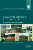Cover image for Environmental deterioration and contamination : problems and their management