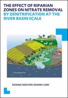 Cover image for The effect of riparian zones on nitrate removal by denitrification at the river basin scale